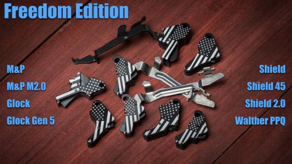 Apex Expands Freedom Edition Triggers, Offers Free Shipping Thru July 4th