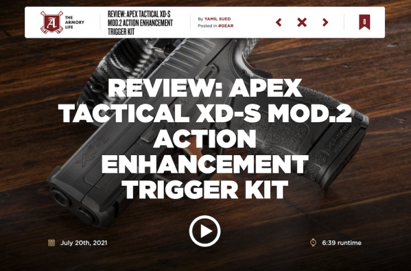 XDs Trigger Review: The Armory Life