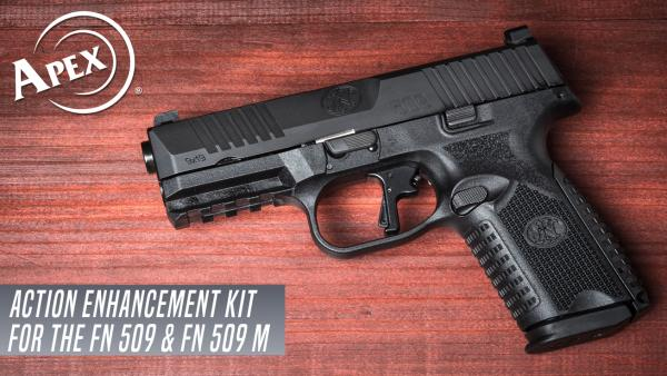 Apex Announces Trigger Upgrade for New FN 509 Midsize