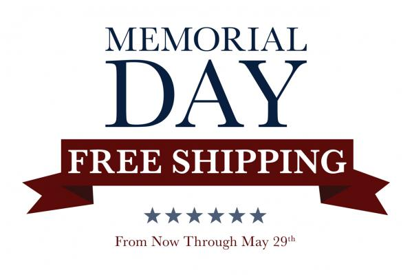 Apex Offers Free Shipping Now Thru Memorial Day