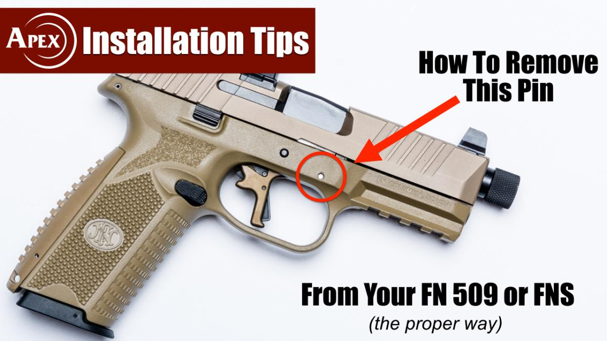 How To Remove That FN Pin