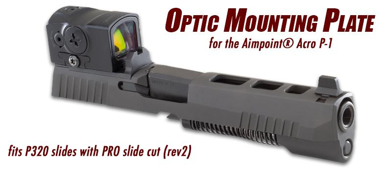 Apex Offers Optic Mounting Plate for Sig P320