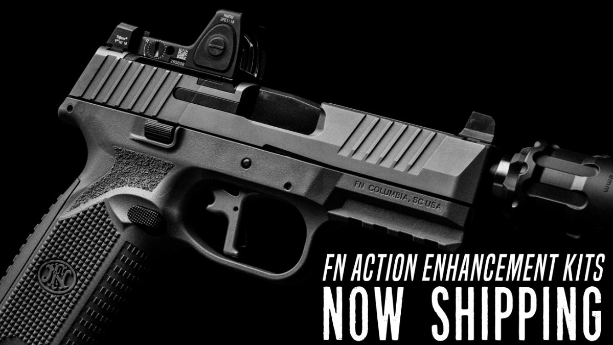 Apex Now Shipping Action Enhancement Kits for FN Pistols