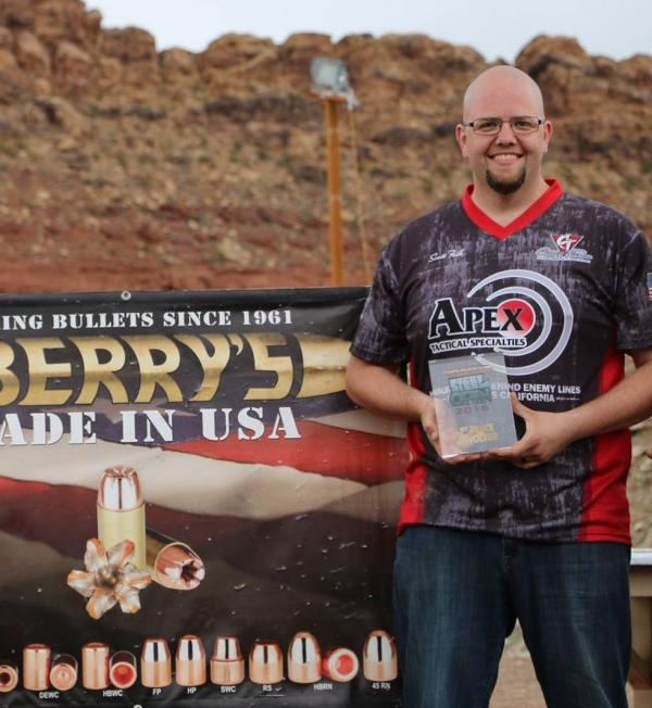 Apex's Scott Folk Takes Revolver Title At Berry's Steel Open