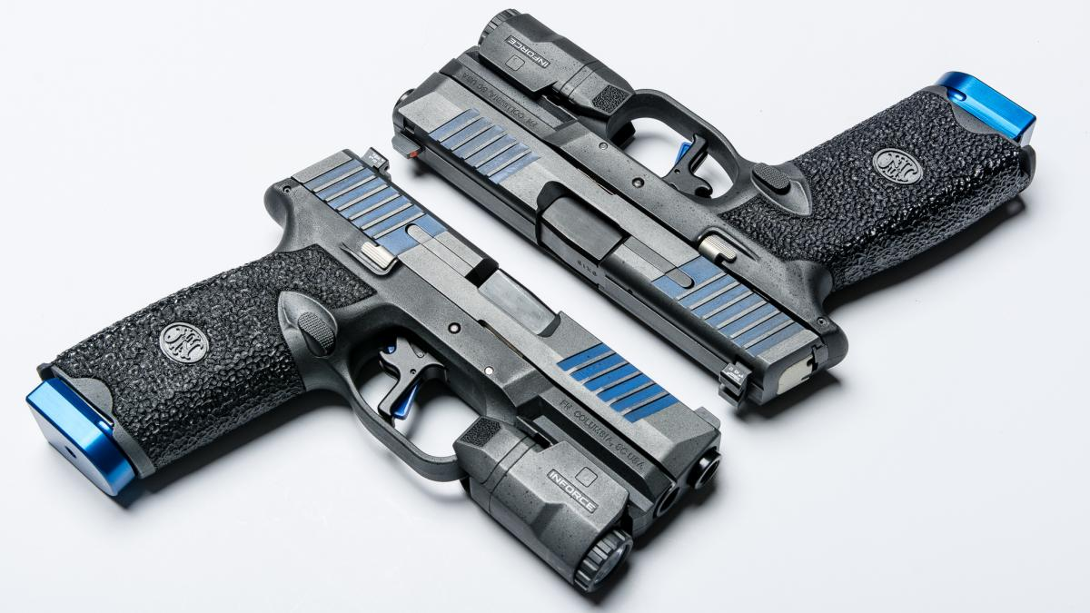 Apex and FN Collaborate on Thin Blue Line Custom Set