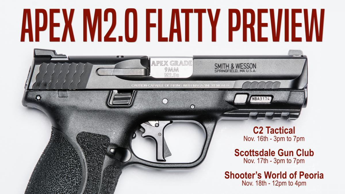 Apex Previewing New M2.0 Trigger at Phoenix Area Ranges