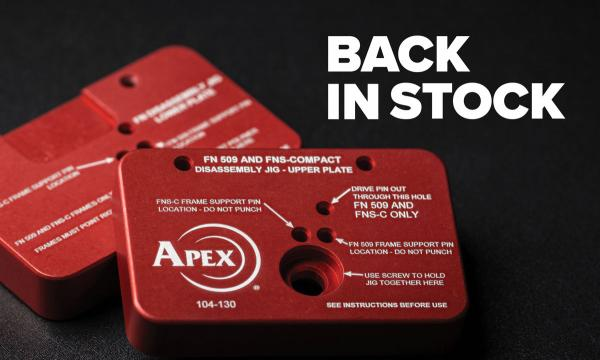 Back In Stock: The FN509/FNS-C Disassembly Fixture