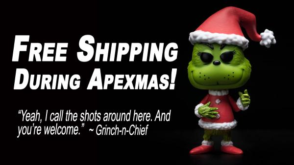 12 Days Of Apexmas Returns With Free Shipping