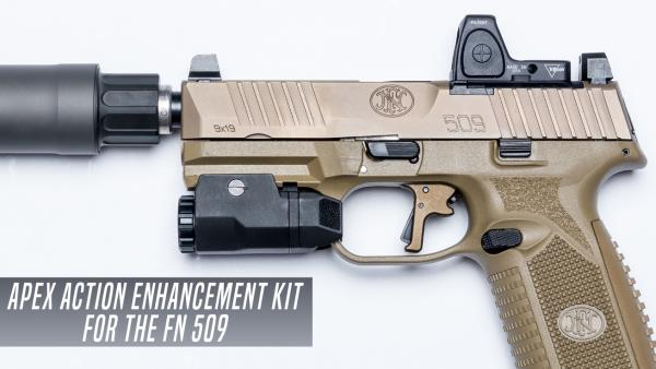 Apex Announces New Action Enhancement Kit for the FN 509 Pistol