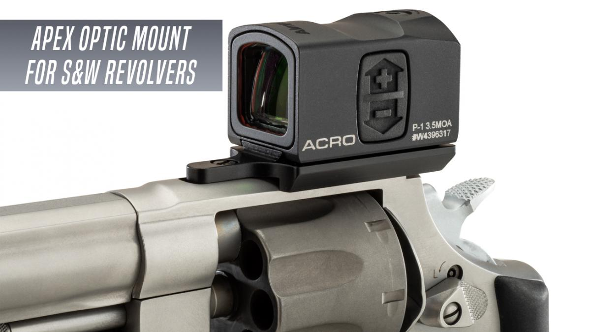 Apex Offers Optic Mounting Plate for Smith & Wesson Revolvers