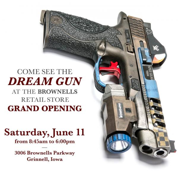 Apex On Hand for Brownells Retail Store Grand Opening