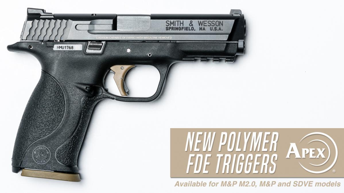 Apex Announces FDE Polymer Trigger Options