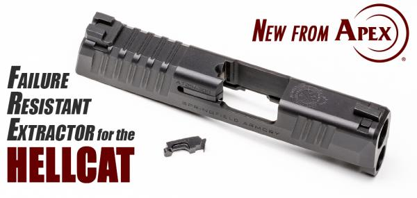 Apex Announces Failure Resistant Extractor for Springfield Hellcat
