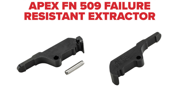 Apex Announces Failure Resistant Extractor for FN 509 Pistols