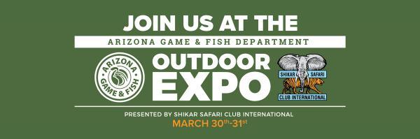 Apex Returns To Arizona Game & Fish Department Outdoor Expo