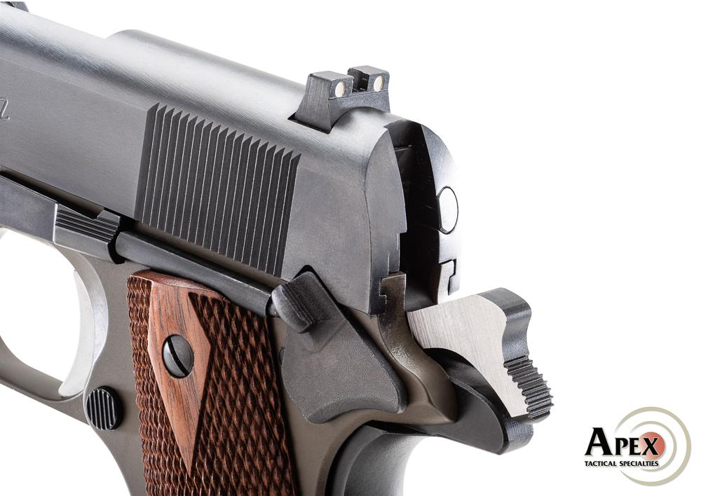 Apex Announces Precision Made Performance Hammers for the 1911