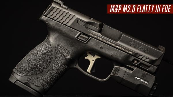 Apex Releases FDE Flatty for M&P M2.0 Pistols