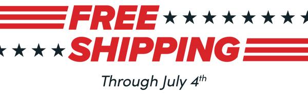 Freedom Edition Triggers Are Back, With Free Shipping Thru July 4th