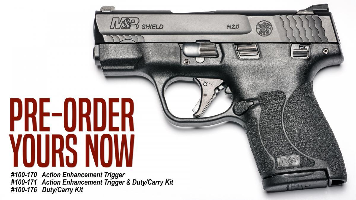Pre-Order New Apex Trigger Kits for the M&P Shield 2.0