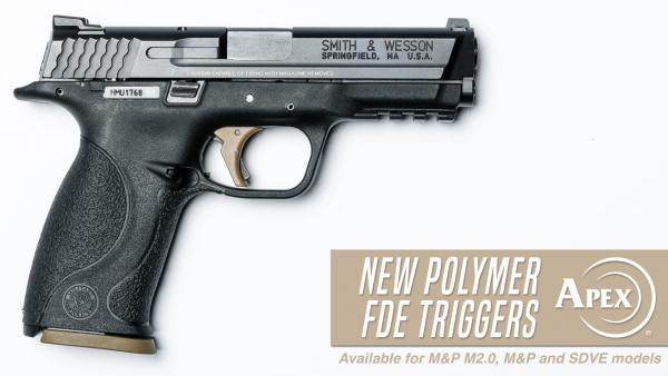 Apex Announces FDE Polymer Trigger Options