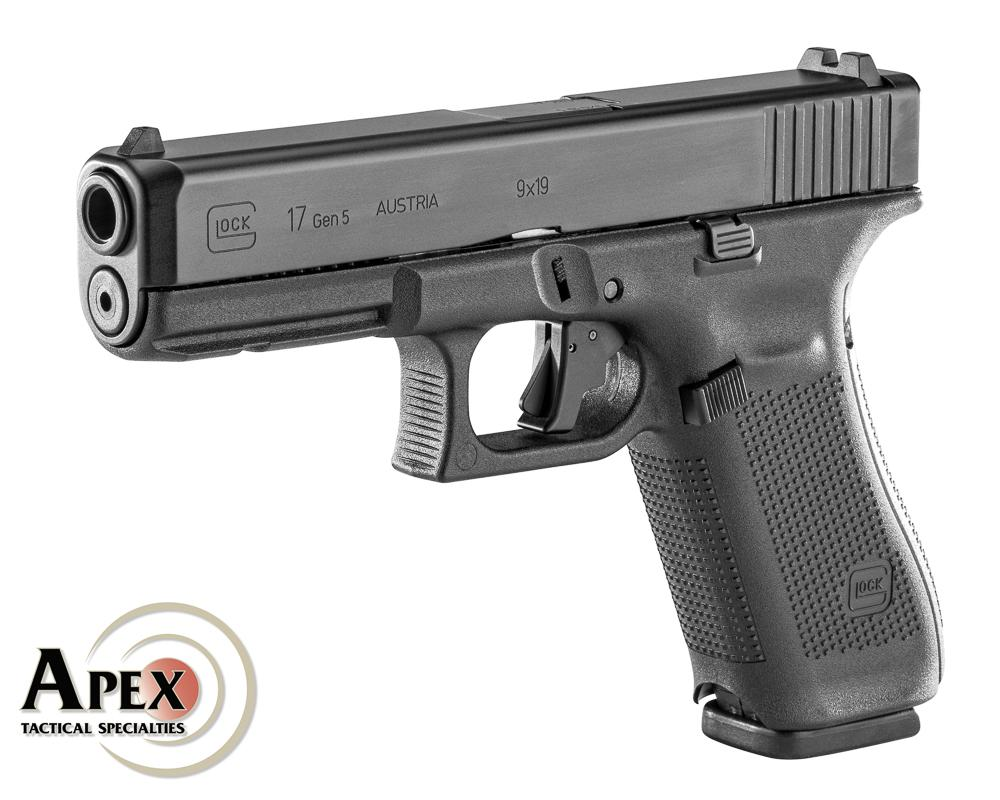 Apex Shipping New Trigger for Gen 5 Glocks, Including Thin Blue Line Version