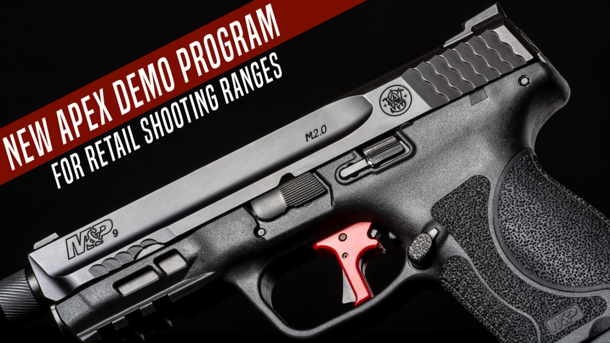 Apex Announces New Demo Trigger Kits for Ranges