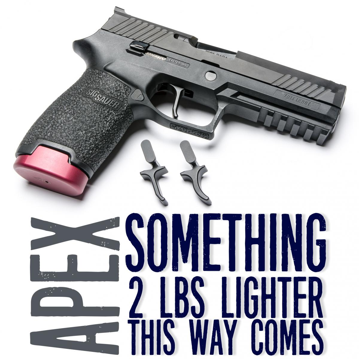 Coming Soon! New Apex P320 Triggers