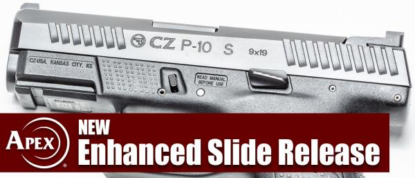 Apex Expands CZ P-10 Offerings With New Enhanced Slide Release