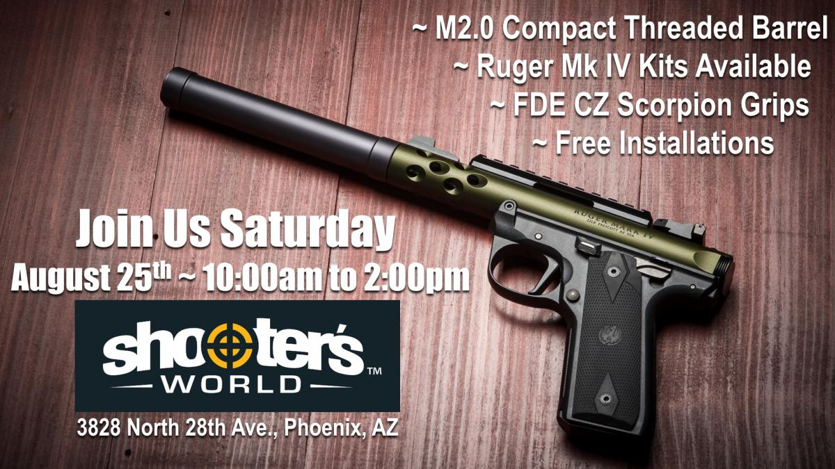 Shooter's World of Phoenix Hosting Apex Showcase