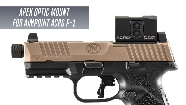 Apex Offers Optic Mounting Plate for FN 509