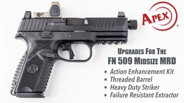 Apex Announces Available Upgrades For New FN 509 Midsize MRD