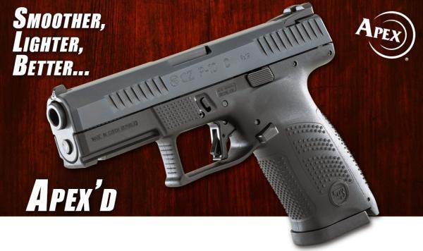 Apex Announces New CZ P-10 Trigger Kit