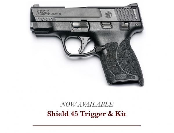 Apex Now Shipping Trigger Upgrades for M&P Shield 45
