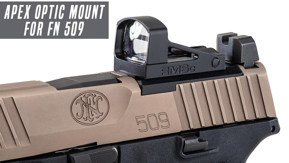 Apex Offers RMSC Optic Mounting Plate for FN 509