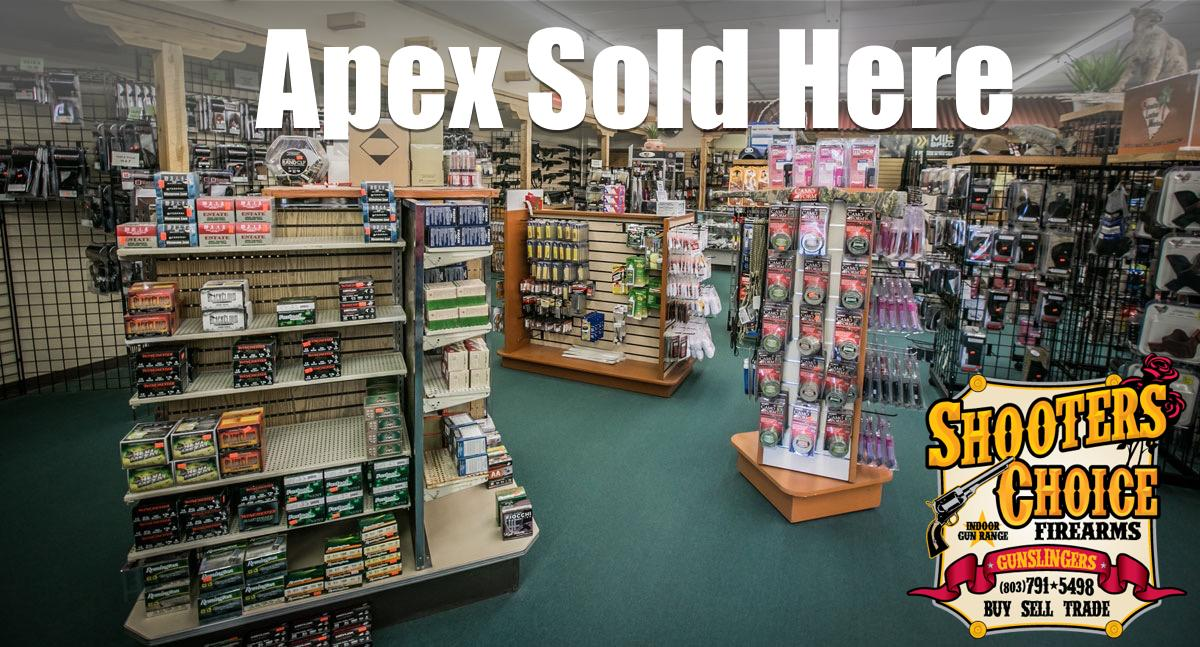 Apex Welcomes New Stocking Dealer Shooter's Choice