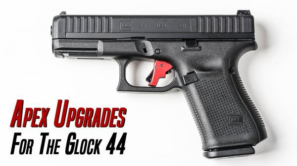Apex Announces Trigger Upgrades for New Glock 44