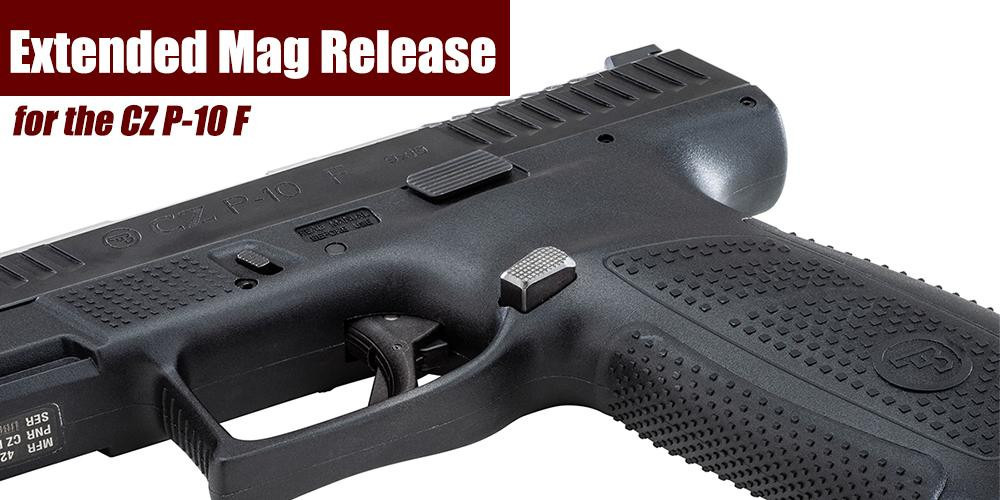 Apex Announces New Extended Mag Release for CZ P10