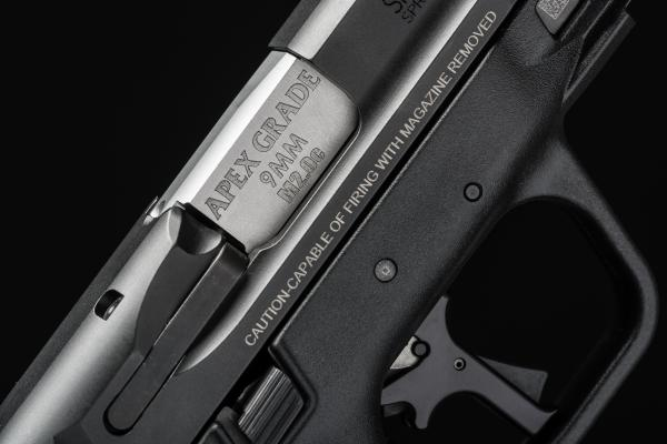 Apex Shipping New Flat-Faced Trigger for M&P M2.0